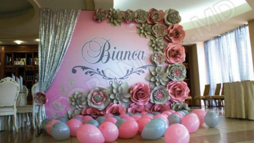 Foto: Panouri foto decorative – Fotobanner.md transformă orice eveniment într-o sărbătoare de vis!