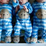 Foto: O femeie din Fălești a adus pe lume tripleți