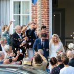 Foto: Vanessa Paradis a îmbrăcat pentru prima dată rochia de mireasă, la 45 de ani