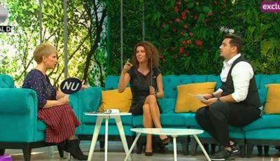 Natalia Barbu a fost invitată la Teo Show! Vezi imagini în exclusivitate cu fiul artistei
