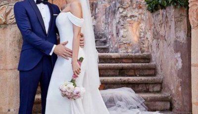 Un celebru artist s-a căsătorit în secret. Imagini de la nuntă