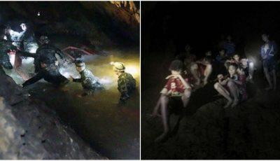 Imagini cutremurătoare. Salvatorii fac eforturi uriașe pentru a-i scoate la suprafață pe cei 12 copii aflați în peșteră, la o adâncime de 6 km
