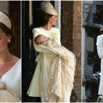 Foto: Ce ținute a purtat Kate Middleton la botezul copiilor săi?