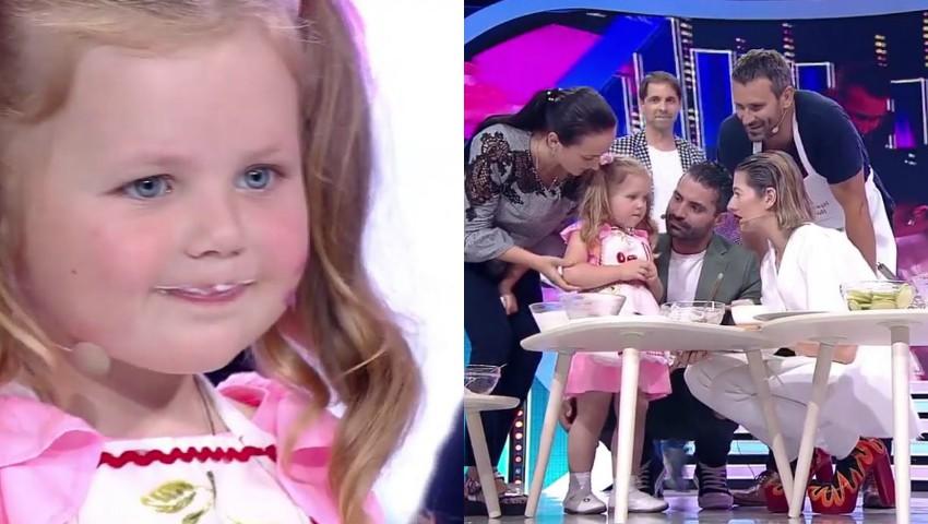 Video! O fetiță de 4 ani, din Glodeni, i-a lăsat mască pe jurații de la Next Star!