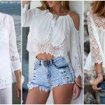 Foto: 10 moduri în care poți purta bluza albă
