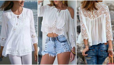 10 moduri în care poți purta bluza albă