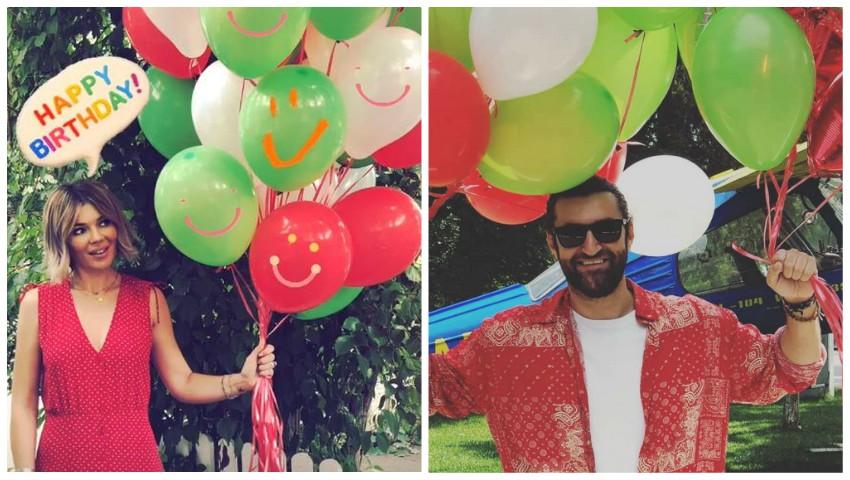 Foto: Smiley și Gina Pistol și-au trimis mesaje cu subînțeles, de ziua de naștere a artistului
