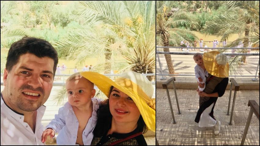 Foto: Dorina Cojocaru-Filipschi a plecat cu familia în vacanță, la Ierusalim!