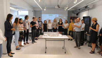 Prima școală de vară dedicată designului urban perfecționează infrastructura orașului