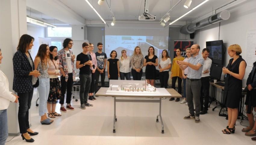 Foto: Prima școală de vară dedicată designului urban perfecționează infrastructura orașului