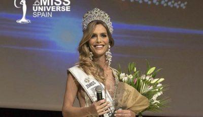 O femeie transsexual a câştigat Miss Universe Spania 2018