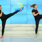Foto: Arde caloriile în doar câțiva pași. Antrenament Body Combat! VIDEO!