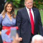 Foto: Ce ținută a purtat Melania Trump de Ziua Americii