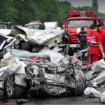 Foto: Cel puțin 10 oameni au murit într-un grav accident în Ucraina