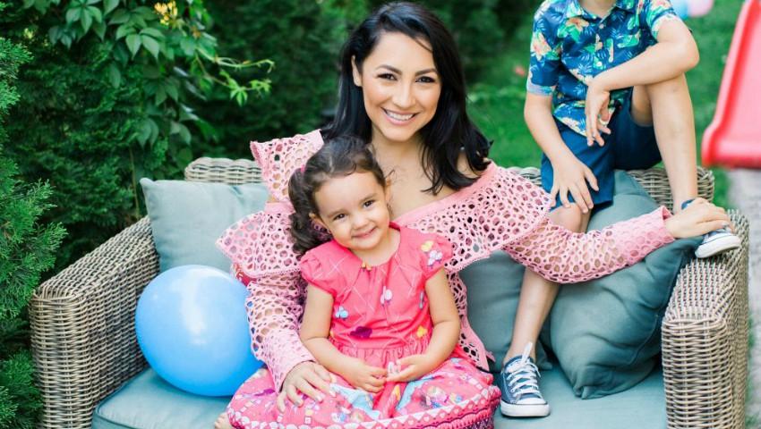 Foto: Andra, mesaj emoționant pentru fiica sa. Eva a împlinit astăzi 3 anișori