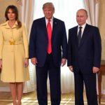Foto: Momentul în care Melania Trump dă mâna cu Vladimir Putin a făcut înconjurul lumii