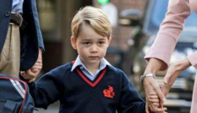 Prințul George a împlinit astăzi 5 ani. Ce fotografie a publicat familia regală?