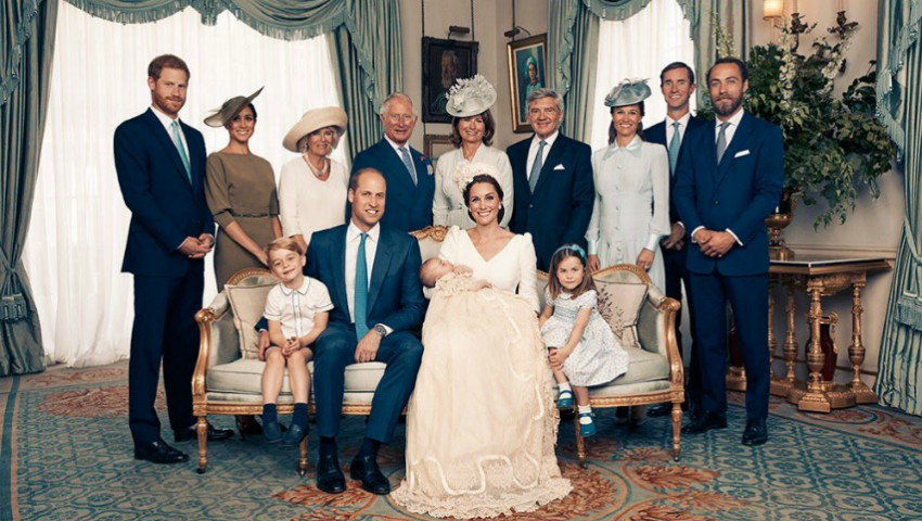 Palatul Kensington a publicat primele fotografii oficiale de la botezul Prințului Louis