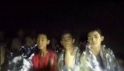 6 din cei 12 copii blocaţi în peştera din Thailanda au fost scoşi la suprafaţă