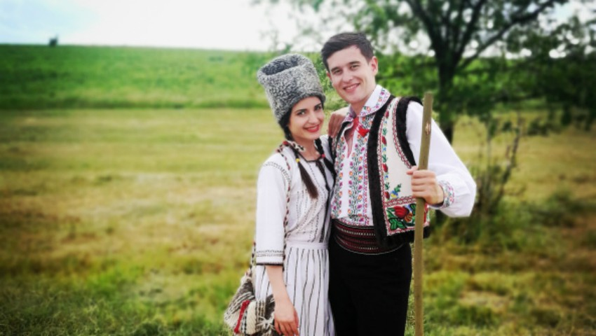 """Foto: """"Pe imaș pe lângăPrut"""" – un nou videoclip de la Stela Botez!"""
