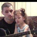 Foto: Pavel Stratan a publicat noi imagini video cu Cleopatra Stratan la vârsta de 3 ani