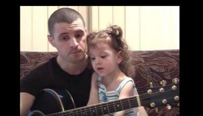 Pavel Stratan a publicat noi imagini video cu Cleopatra Stratan la vârsta de 3 ani