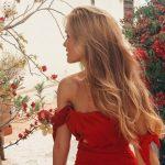 Foto: Cristina Gheiceanu a dezvăluit secretele părului său catifelat. Află ce combinații de uleiuri naturale folosește bloggerița