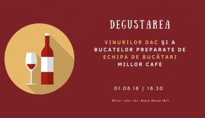 Cum să combini corect vinul cu bucatele – Millor Cafe te invită să descoperi aroma licorilor gustoase în cadrul unui deosebit eveniment de vară!