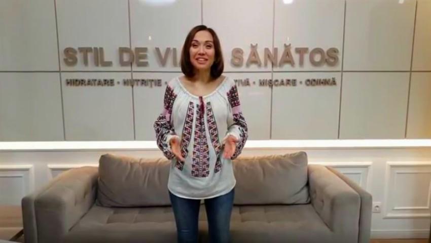 """Foto: Galina Tomaș te invită la seminarul gratuit în Bălți: ,,Cum poți slăbi sănătos de acasă 10 kg în 10 săptămâni?"""""""
