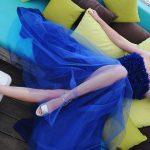 Foto: Un look extravagant, cu o notă de romantism pentru Alexandra Shine