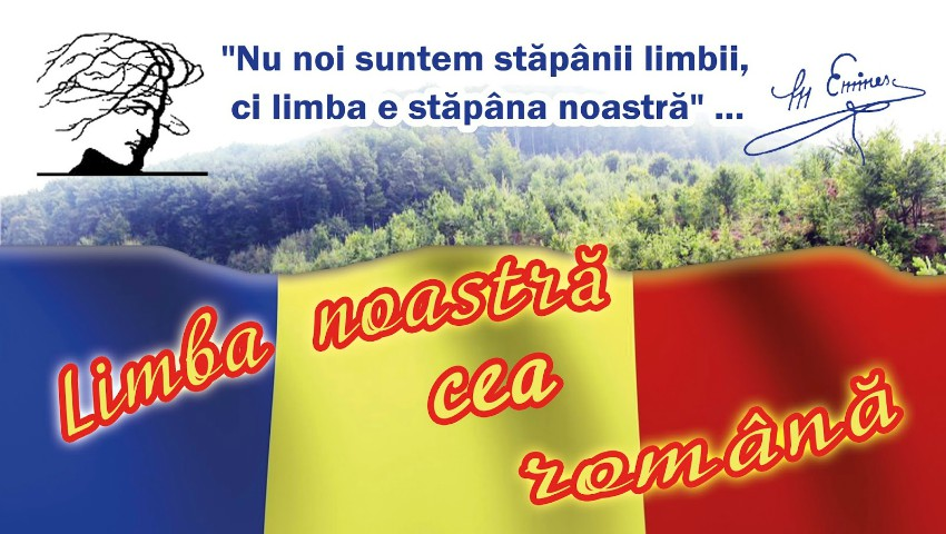 """Vezi programul evenimentelor dedicate Sărbătorii naționale ,,Limba Noastră""""!"""