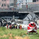 Foto: Un alt moldovean, a fost rănit în catastrofa de la Genova