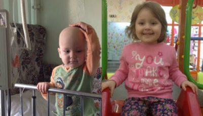 Melisa are doar 4 anișori și a fost diagnosticată cu cancer. Să o ajutăm să învingă boala!