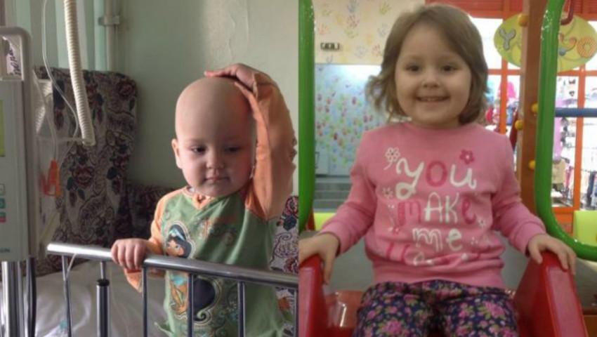 Foto: Melisa are doar 4 anișori și a fost diagnosticată cu cancer. Să o ajutăm să învingă boala!