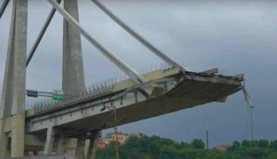 Anunțul făcut de firma care administra podul prăbuşit în Genova