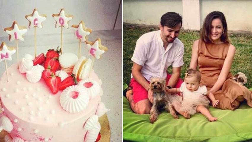 Fiica Elenei Băncilă a împlinit un anișor! Ce petrecere i-au organizat părinții