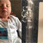 Foto: O fetiță s-a născut cu un dinte, iar la 12 zile a ajuns la stomatolog