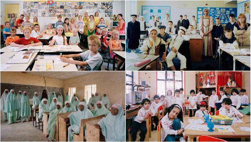 Proiect fotografic. Cum arată sălile de clasă în școlile din întreaga lume