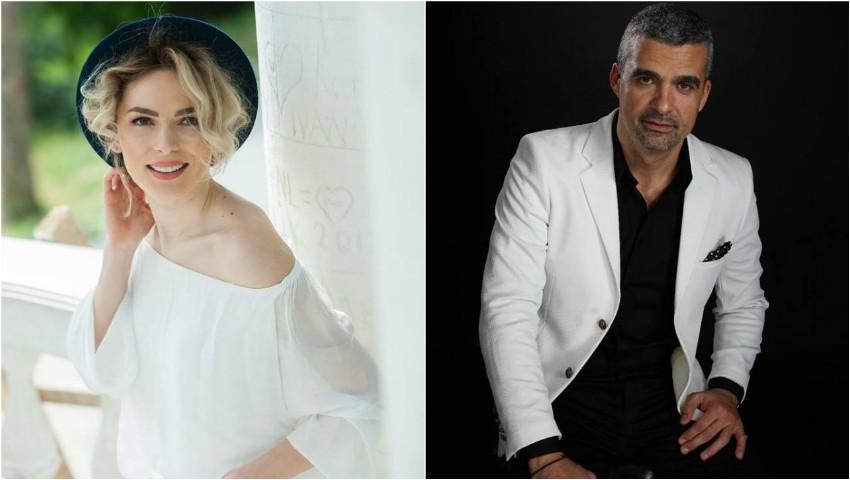 Foto: Ilinca Avram și Aurelian Temişan prezintă prima seară a Festivalului Cerbul de Aur