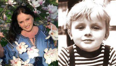 Mesajul Sofiei Rotaru pentru fiul ei, care astăzi este sărbătorit