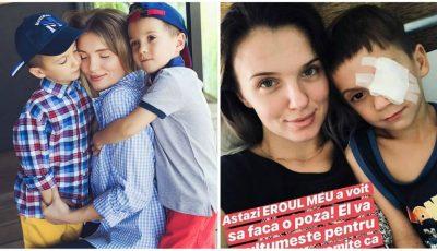 Olga Manciu și-a externat băiețelul! Cum se simte Damian