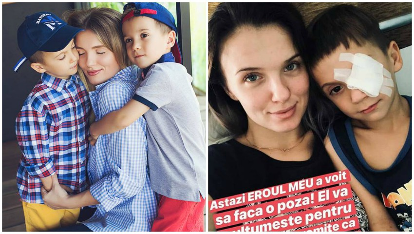 Foto: Olga Manciu și-a externat băiețelul! Cum se simte Damian