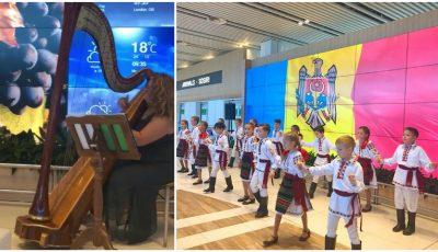Foto/Video. Ziua Limbii Române a fost sărbătorită la Aeroportul Internațional Chișinău