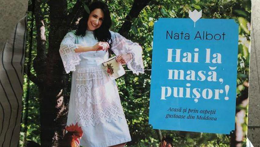 """Foto: ,,Hai la masă, puișor!"""" – Nata Albot a lansat cea de-a doua carte de bucate"""
