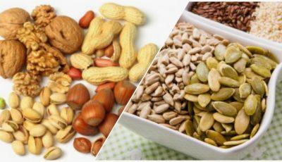 Cum să consumi nucile și seminţele, în dieta sănătoasă și echilibrată