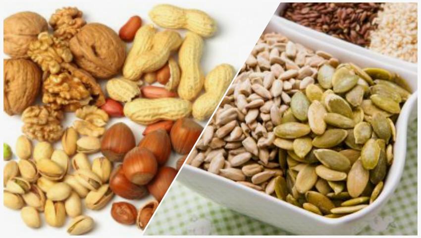 Foto: Cum să consumi nucile și seminţele, în dieta sănătoasă și echilibrată