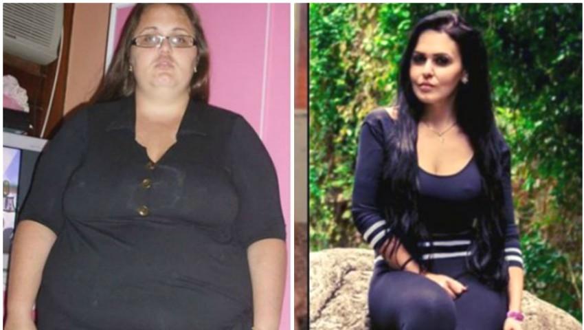 Foto: Transformarea radicală a unei tinere! În 6 ani, a slăbit 88 de kg