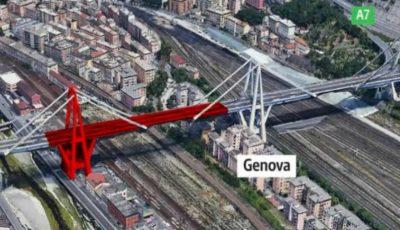 Cum arăta podul din Genova cu câteva zile înainte de a se prăbuși?
