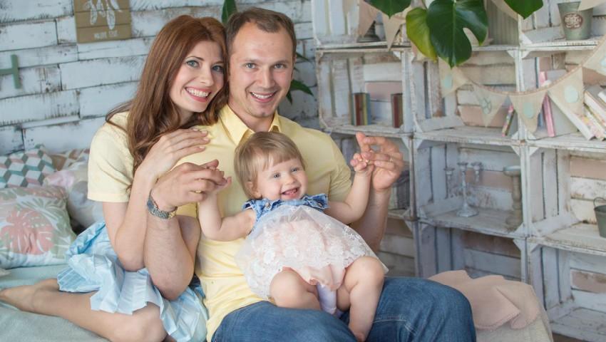 Foto: Veronica Ghimp a născut o fetiță sănătoasă!