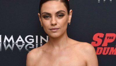 Mila Kunis și-a șocat fanii cu cea mai recentă apariție pe covorul roșu